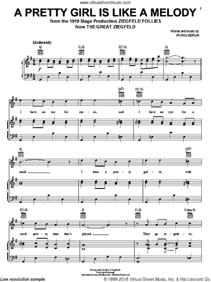 Irving Berlin - Stage and Screen 2 (complete set of parts) sheet music for voice, piano or guitar by Irving Berlin, Diana Krall, Ann Hampton Callaway, Bing Crosby, Elmo Hope, Frank Sinatra, Fred Astaire and White Christmas (Musical), wedding score, intermediate skill level