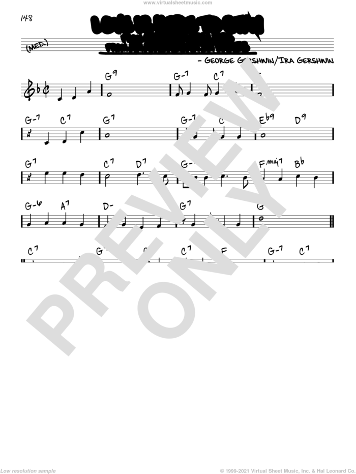 Love Is Here To Stay sheet music for voice and other instruments (real book) by George Gershwin and Ira Gershwin, intermediate skill level