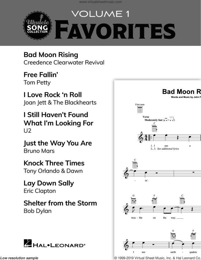 Ukulele Song Collection, Volume 1: Favorites sheet music for ukulele solo (collection), easy ukulele (collection)