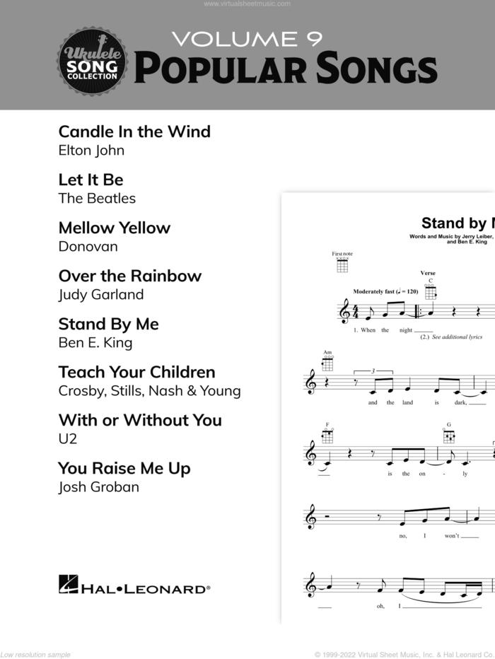 Ukulele Song Collection, Volume 9: Popular Songs sheet music for ukulele solo (collection), easy ukulele (collection)