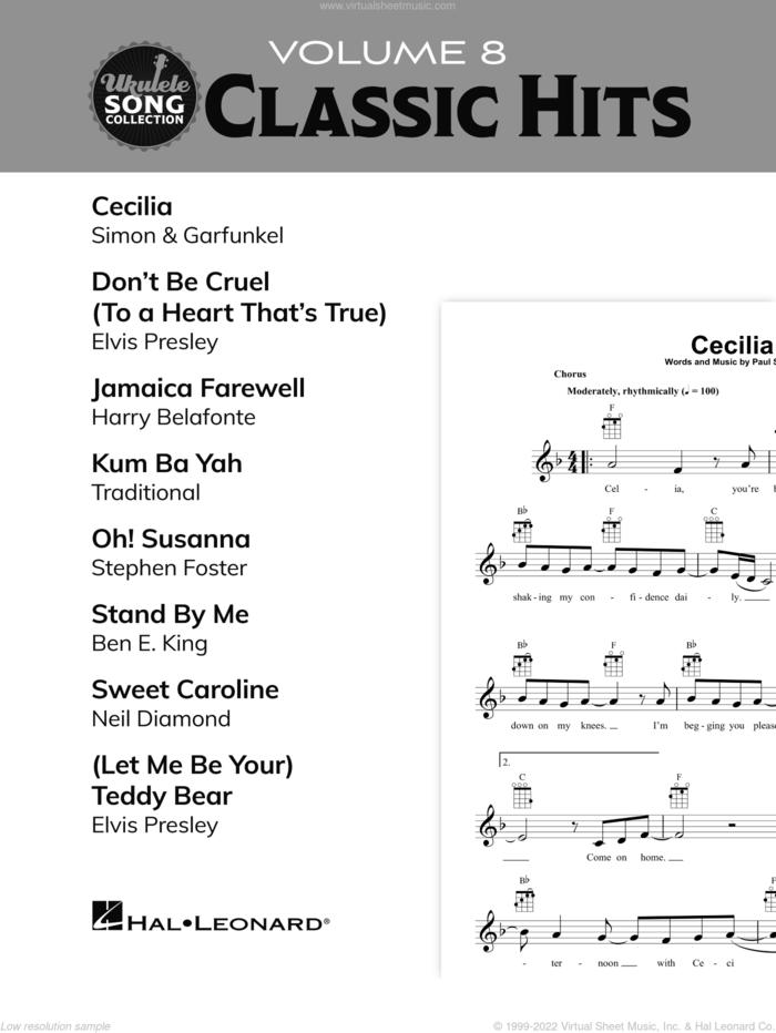 Ukulele Song Collection, Volume 8: Classic Hits sheet music for ukulele solo (collection), easy ukulele (collection)