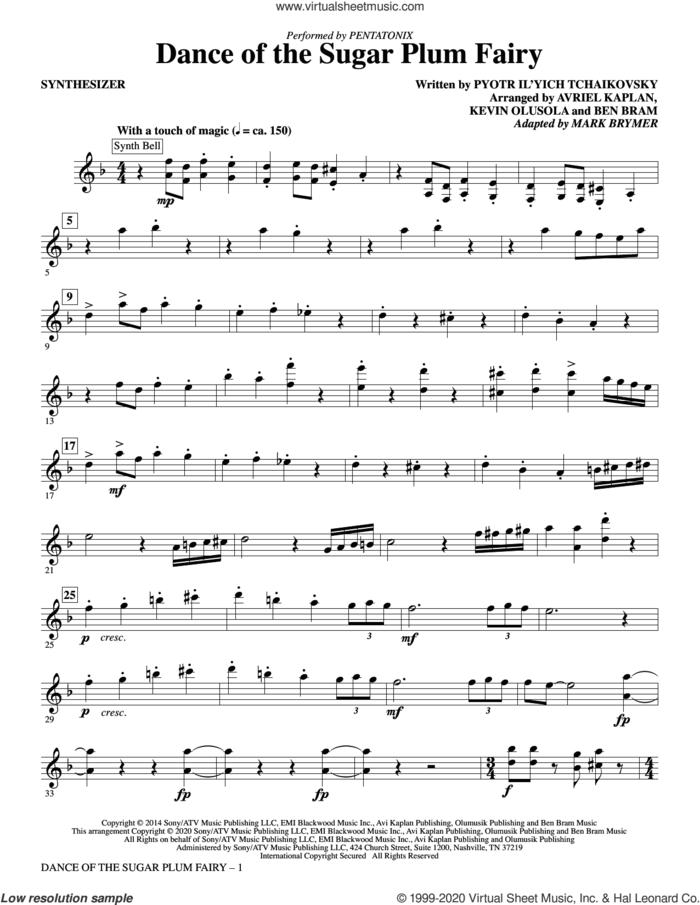 Dance Of The Sugar Plum Fairy (arr. Mark Brymer) (complete set of parts) sheet music for orchestra/band by Mark Brymer, Avriel Kaplan, Ben Bram, Kevin Olusola, Pentatonix and Pyotr Ilyich Tchaikovsky, intermediate skill level