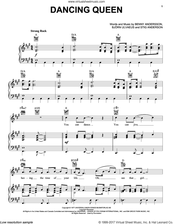 Broadway Selections from Mamma Mia! (complete set of parts) sheet music for voice, piano or guitar by ABBA, Benny Andersson, Bjorn Ulvaeus, Mamma Mia! (Movie), Mamma Mia! (Musical) and Stig Anderson, intermediate skill level
