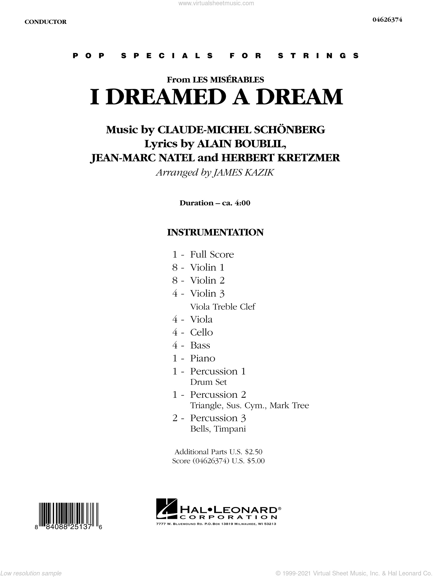 I Dreamed a Dream (from