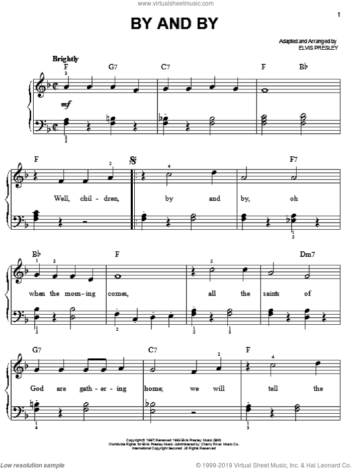 Christmas Greeting sheet music for piano solo (chords)