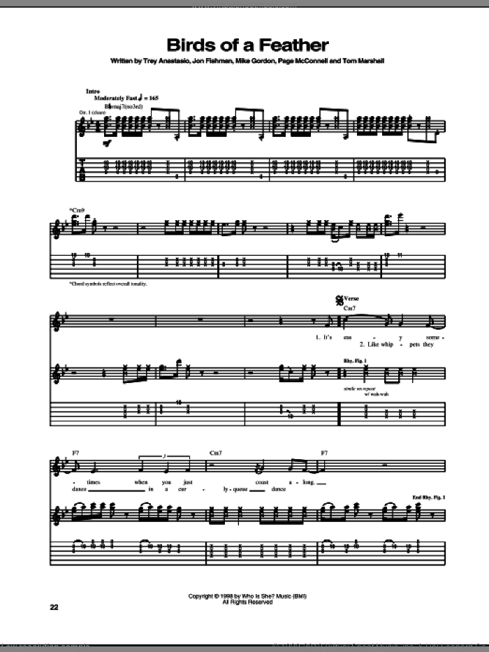 Bed Of Roses sheet music for guitar (tablature) by Bon Jovi, intermediate. Score Image Preview.