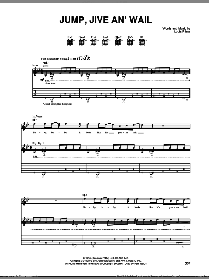 Ramblin' On My Mind sheet music for guitar (tablature) by Robert Johnson