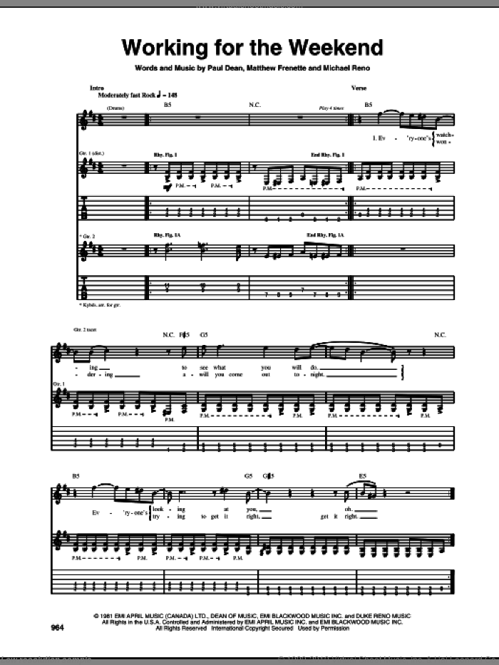 You Shook Me sheet music for guitar (tablature) by Led Zeppelin, Muddy Waters, J.B. Lenoir and Willie Dixon, intermediate skill level