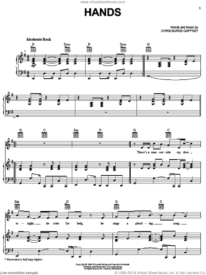 Fly Away sheet music for voice, piano or guitar by Jamie Houston