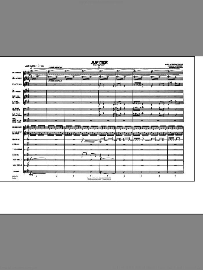 Partitura pdf marching band