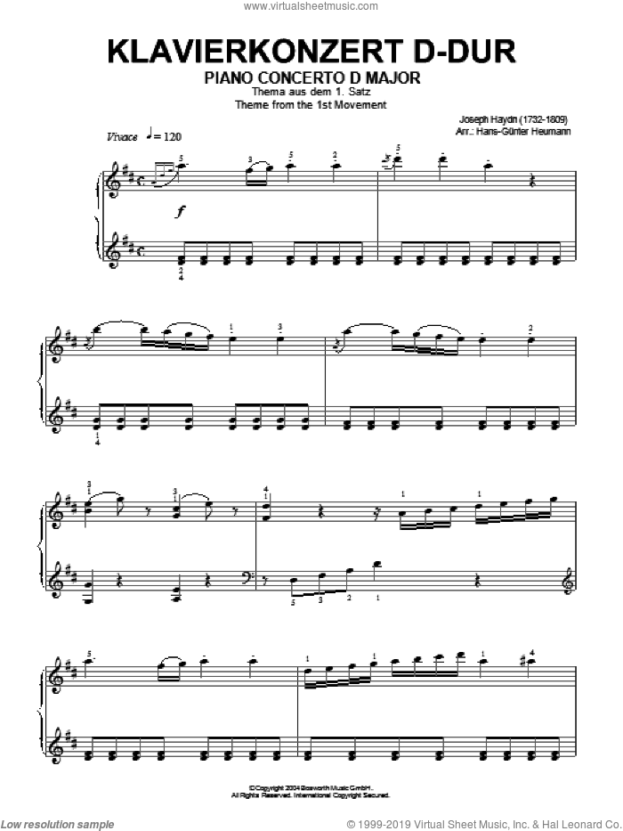 From Foreign Lands And People sheet music for piano solo by Robert Schumann