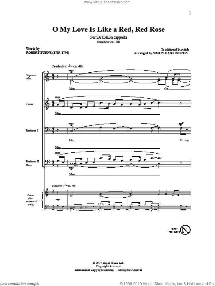 Satb Sheet Music