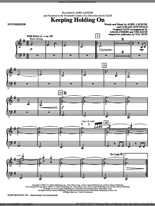 Keep Holding On (COMPLETE) sheet music for orchestra by Lukasz Gottwald
