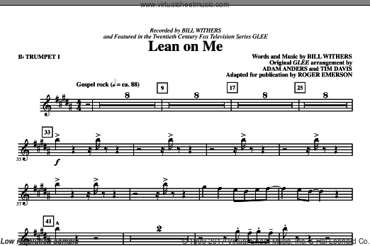 Lean On Me (COMPLETE) sheet music for orchestra
