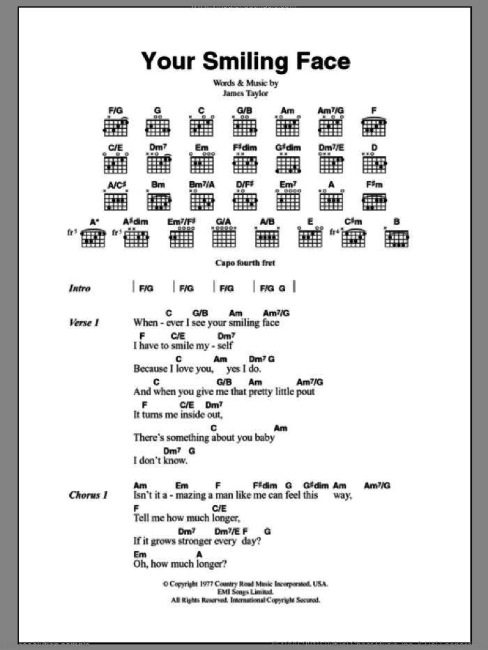 Exelent Guitar Chords For From The Inside Out Image Collection ...