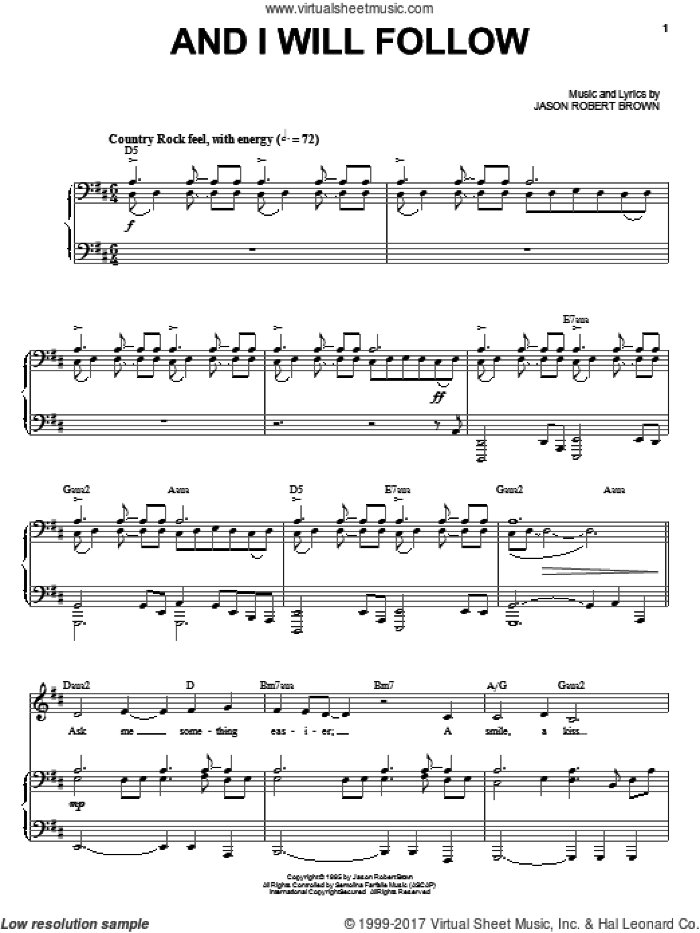 Songs of Jason Robert Brown (complete set of parts) sheet music for voice and piano by Jason Robert Brown and Lauren Kennedy, intermediate skill level
