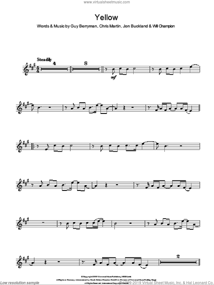 Perfect Coldplay Yellow Chords Piano Pattern - Song Chords Images ...