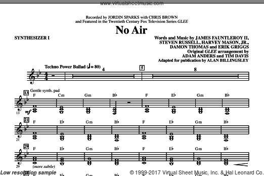No Air (COMPLETE) sheet music for orchestra by Damon Thomas