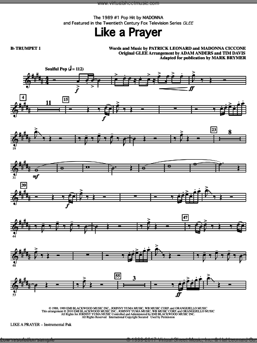 Like A Prayer (COMPLETE) sheet music for orchestra by Patrick Leonard