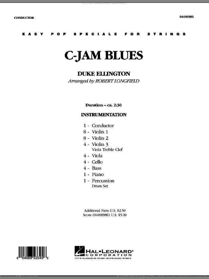 c jam blues sheet music pdf
