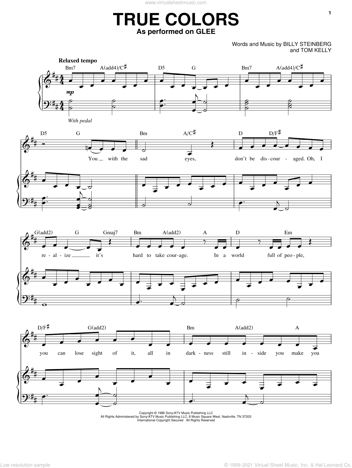 hoist the colors sheet music pdf