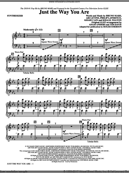 Just The Way You Are (COMPLETE) sheet music for orchestra by Ari Levine