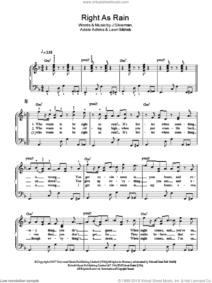 kiss the rain easy piano sheet music pdf