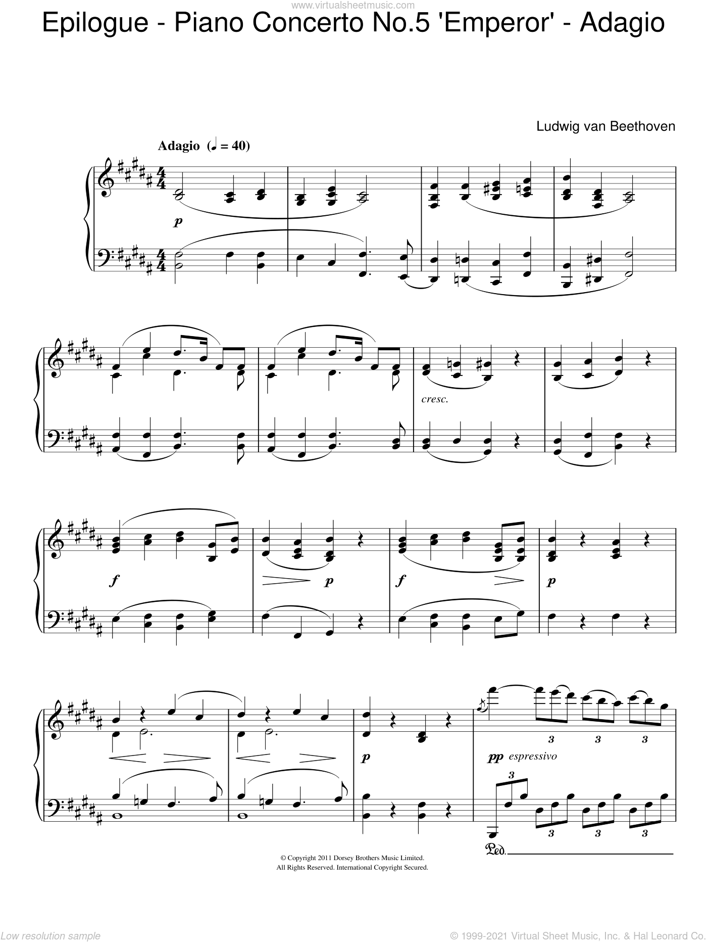 Epilogue (Piano Concerto No.5
