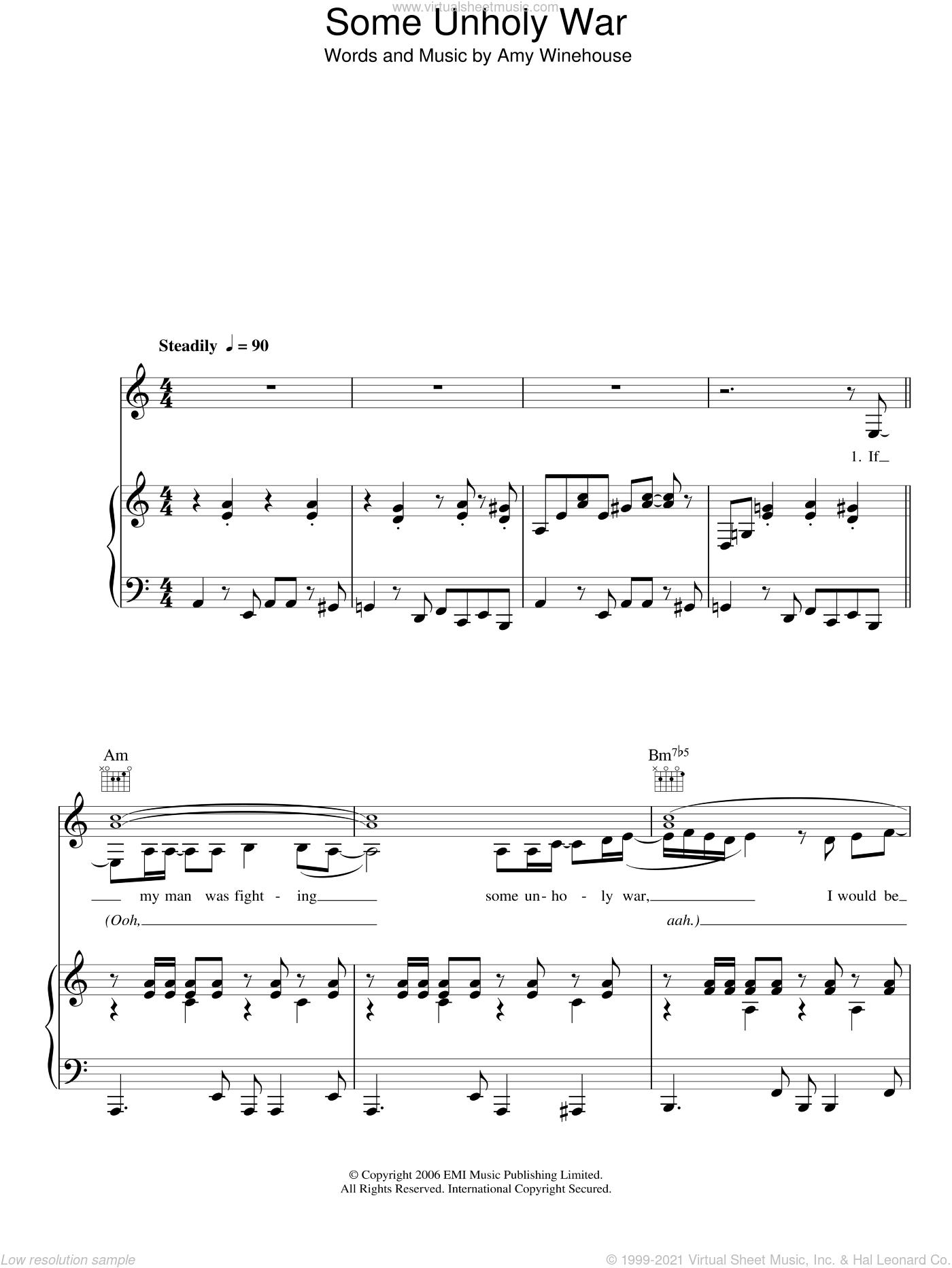 Amy Winehouse Piano Sheet Music Piano Ideas