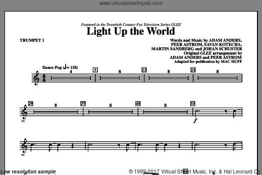 Light Up The World (COMPLETE) sheet music for orchestra by Johan Schuster