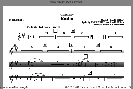 Radio (COMPLETE) sheet music for orchestra by Roger Emerson