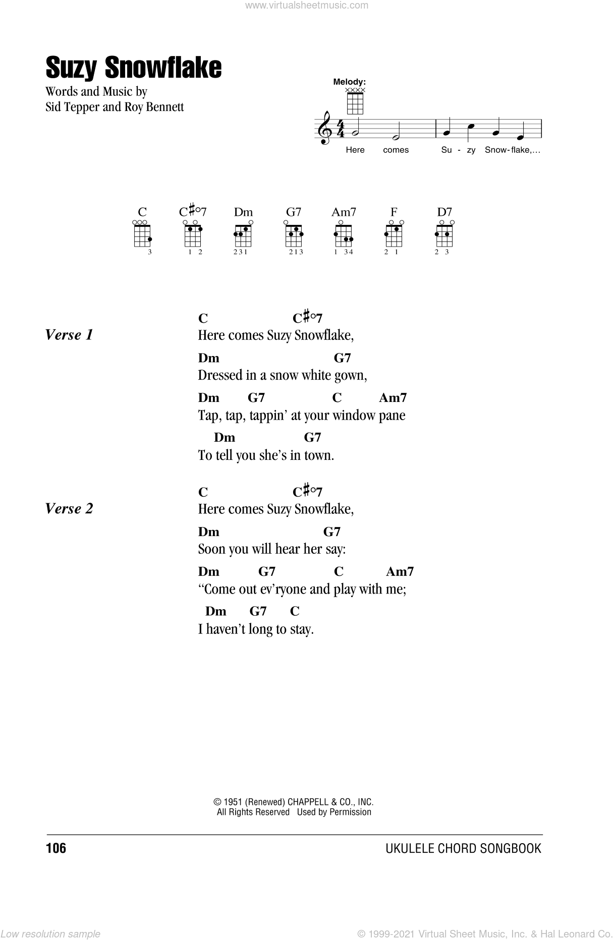 When Christmas Comes To Town Lyrics.Tepper Suzy Snowflake Sheet Music For Ukulele Chords Pdf
