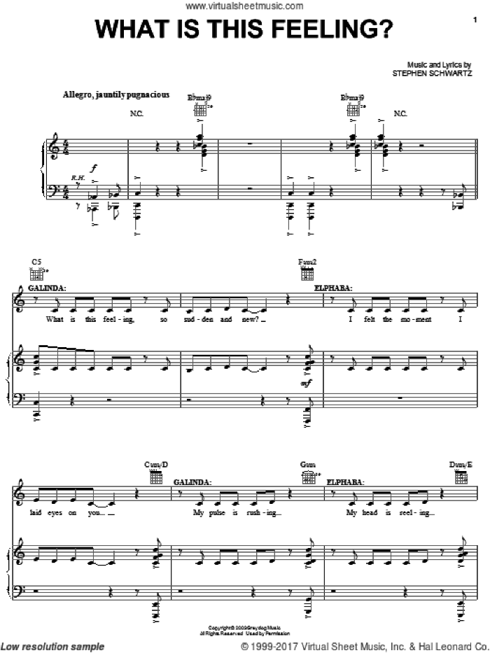 Broadway Selections from Wicked (complete set of parts) sheet music for voice, piano or guitar by Stephen Schwartz and Wicked (Musical), intermediate skill level