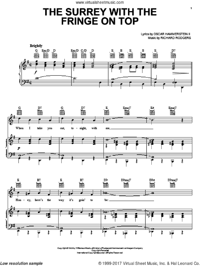 Rodgers and Hammerstein - Digital Folio 5 (complete set of parts) sheet music for voice, piano or guitar by Rodgers & Hammerstein, Carousel (Musical), Julie Andrews, Oklahoma! (Musical), Oscar II Hammerstein, Richard Rodgers, South Pacific (Musical), Stacey Kent, The King And I (Musical) and The Sound Of Music (Musical), intermediate skill level