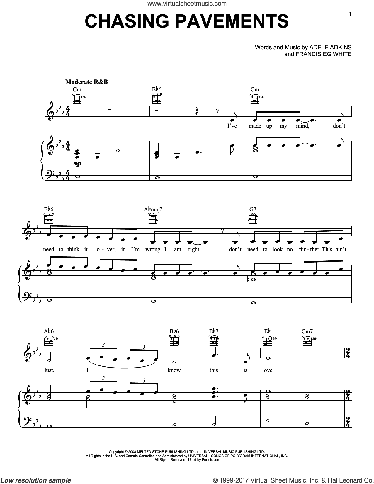 Adele Hits (complete set of parts) sheet music for voice, piano or guitar by Adele, Adele Adkins, Dan Wilson, Francis White, Fraser T. Smith, Paul Epworth and Skyfall (Movie), intermediate skill level