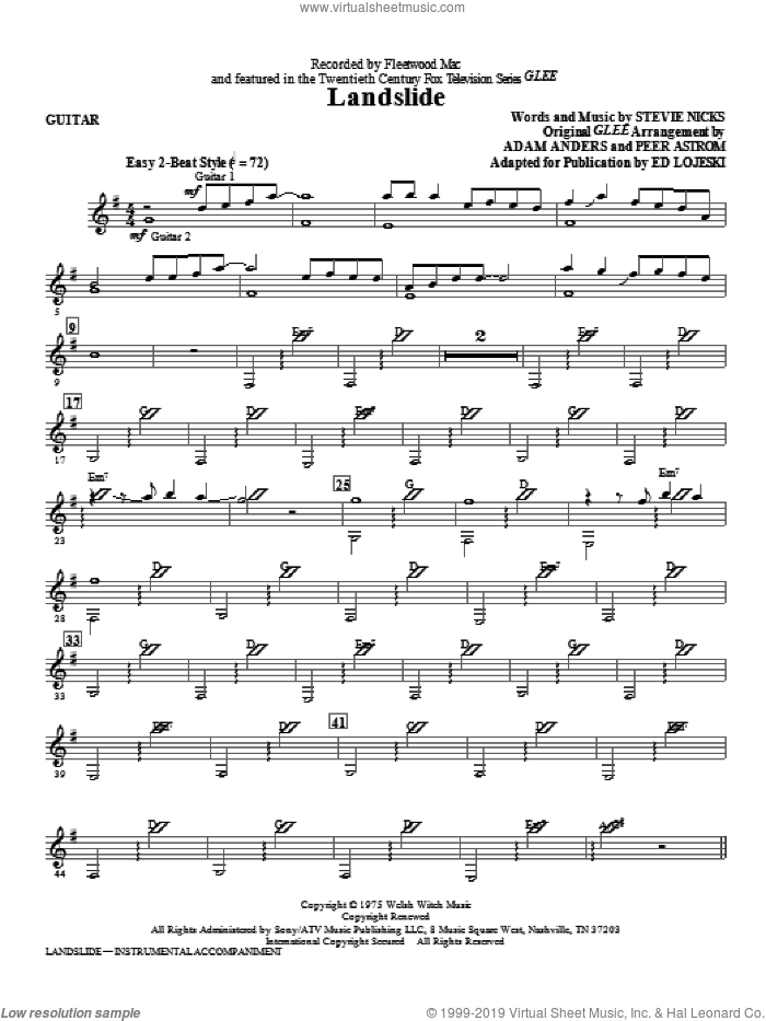 Landslide (complete set of parts) sheet music for orchestra/band by Ed Lojeski, intermediate skill level