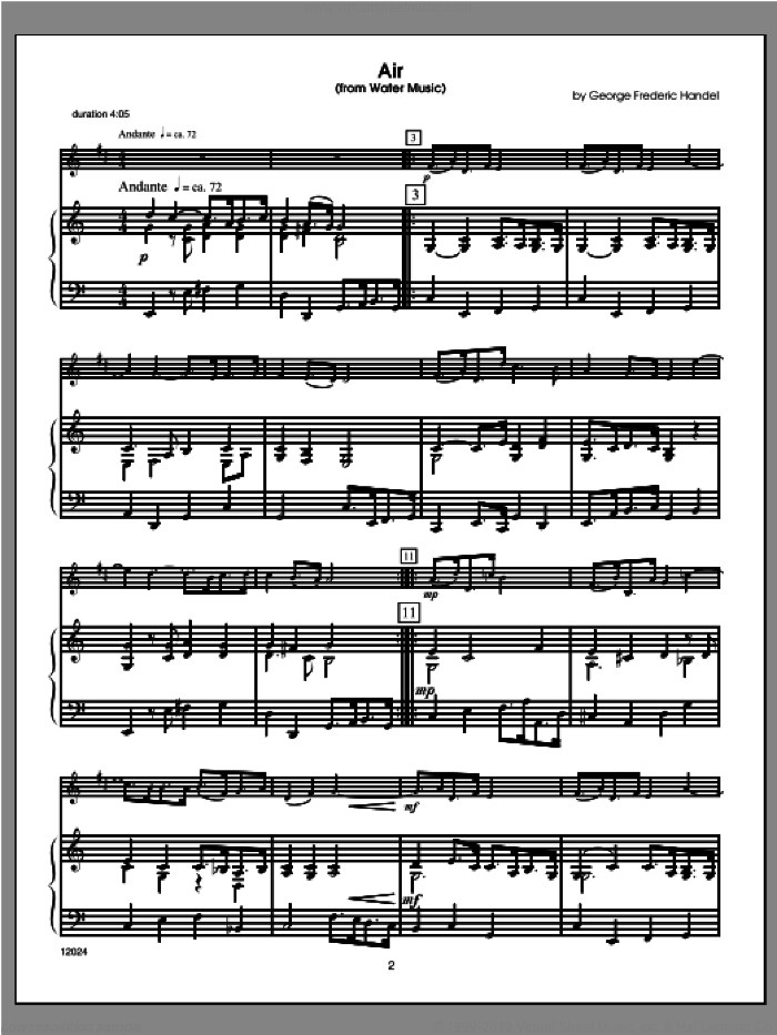 Wedding Masterworks - Trumpet (COMPLETE) sheet music for trumpet and piano by Halferty, classical score, intermediate
