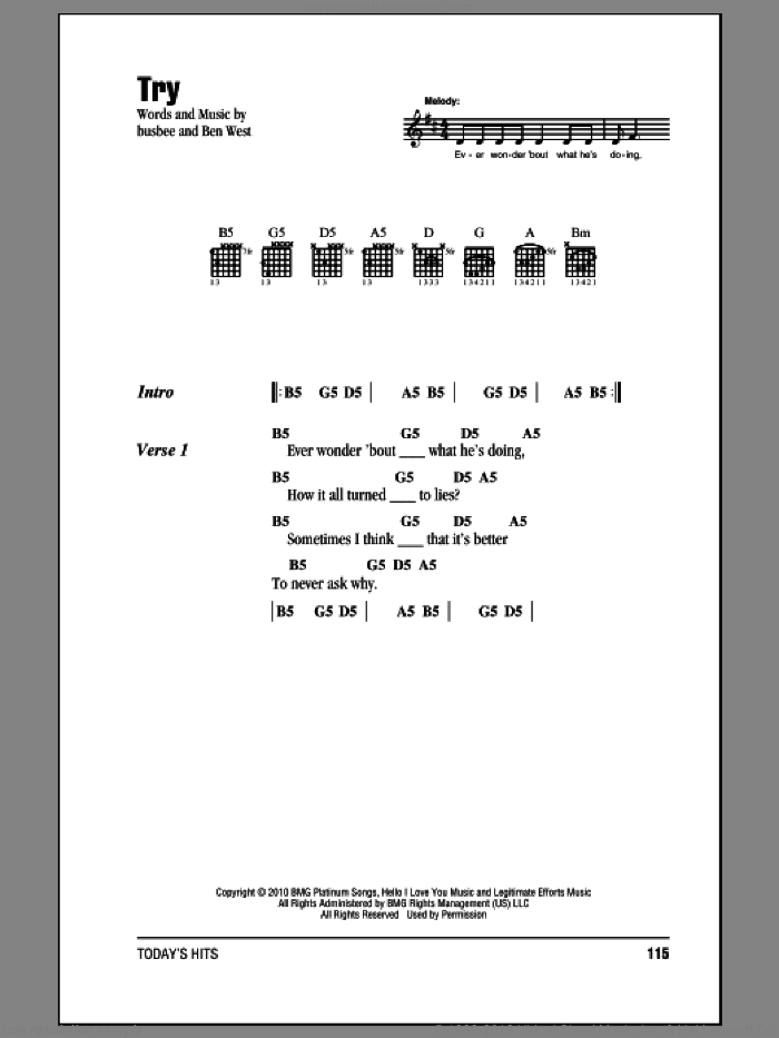 Try sheet music for guitar (chords), intermediate guitar (chords). Score Image Preview.