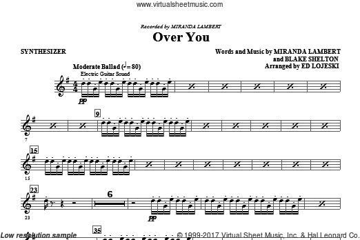 Over You (COMPLETE) sheet music for orchestra by Ed Lojeski