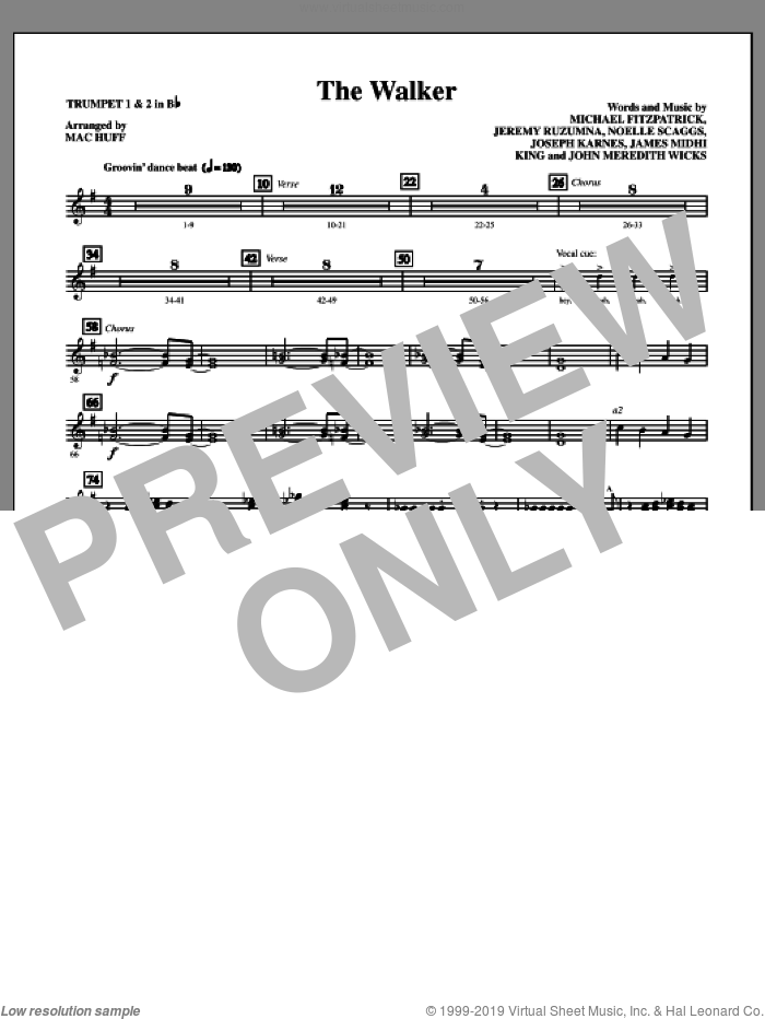 The Walker (COMPLETE) sheet music for orchestra by Noelle Scaggs