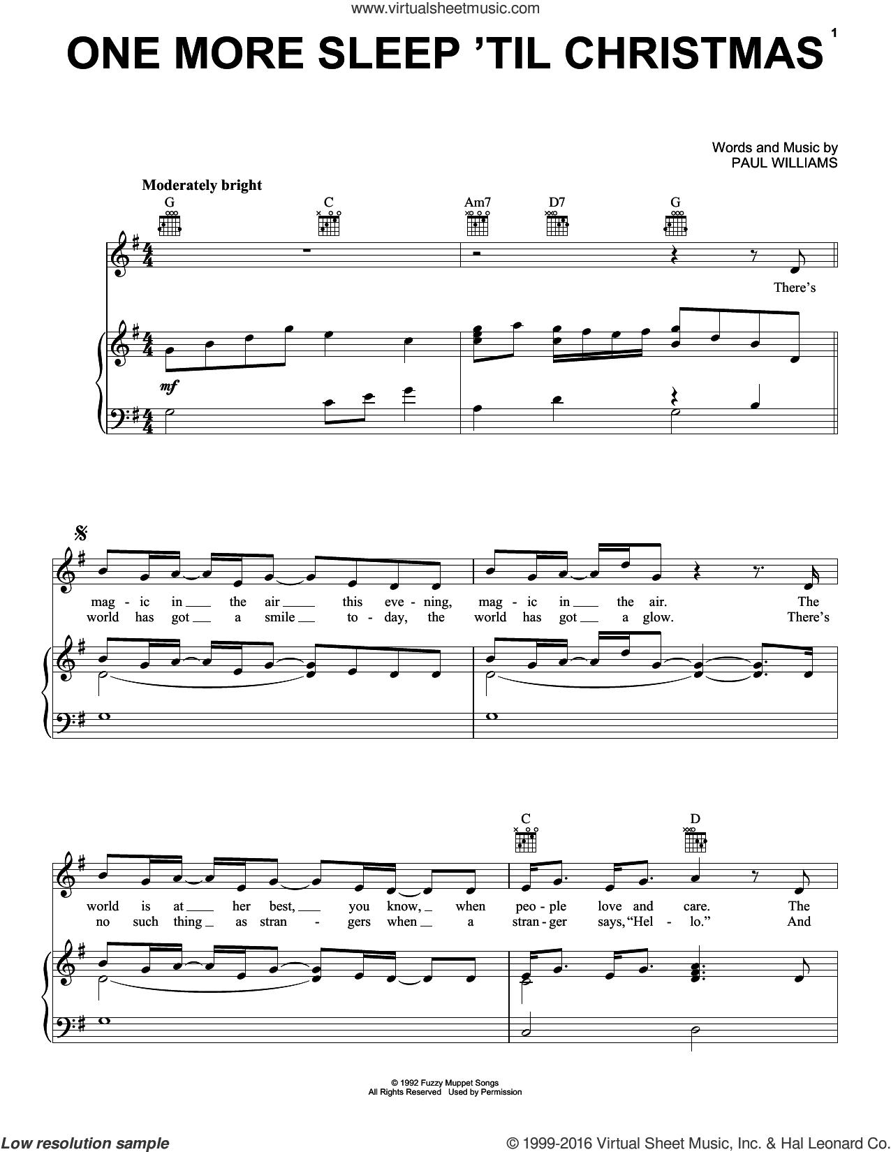 Muppet Christmas Carol Sheet Music