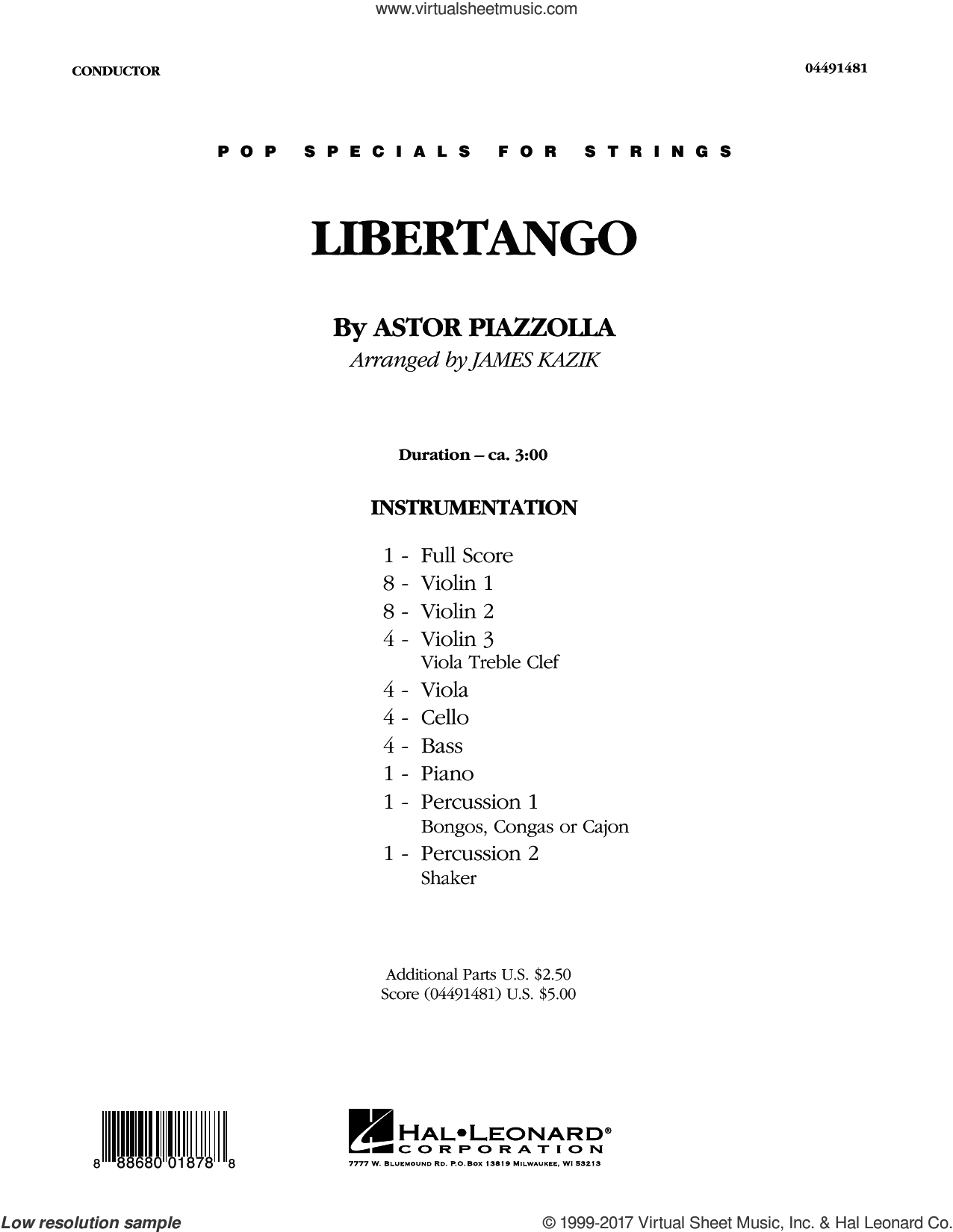 piazzolla paper Already, the trio (one of the quartet members could not make the event) had  warmed up the room with one of composer astor piazzolla's spicy,.