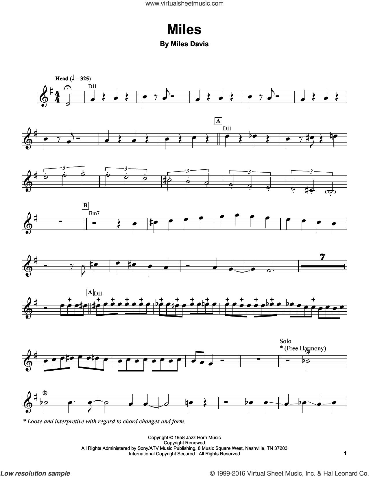 so what miles davis solo transcription pdf