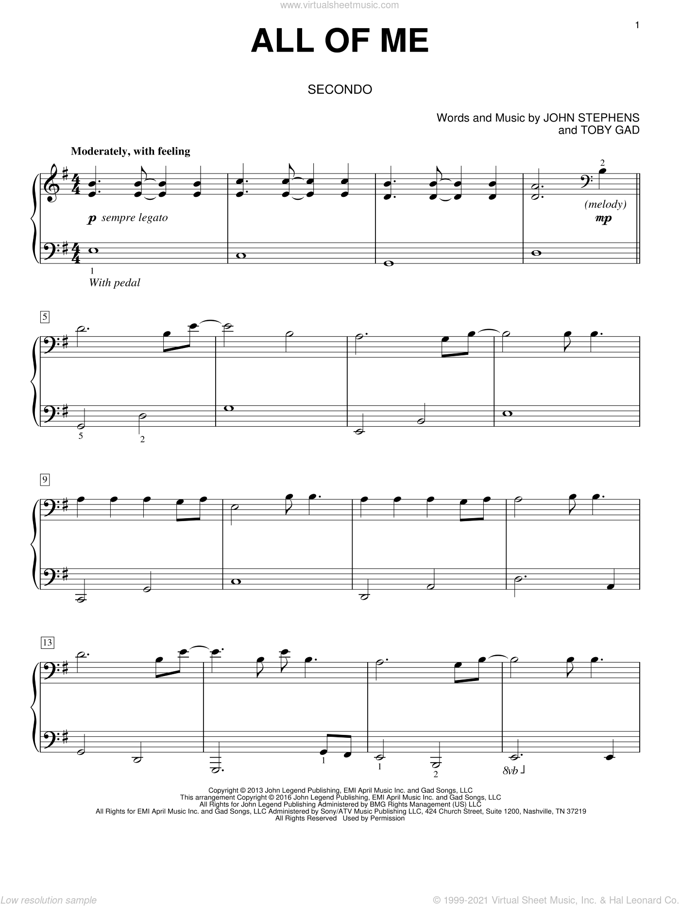All Of Me Piano Sheet Music legend - all of me sheet music for piano four hands v2