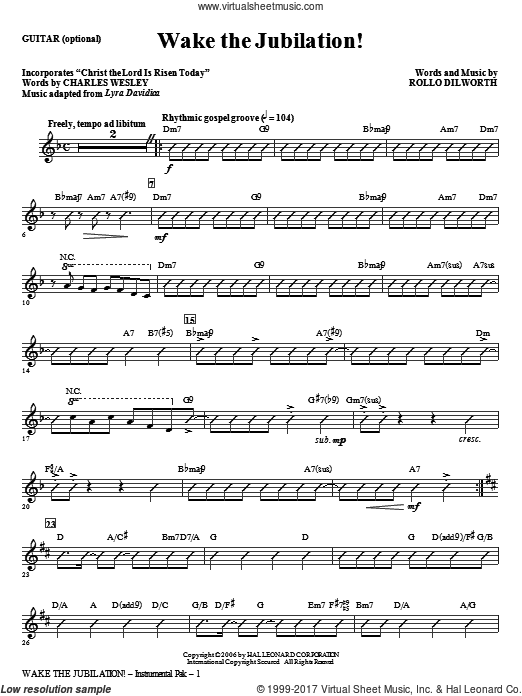 Wake The Jubilation! (COMPLETE) sheet music for orchestra by Rollo Dilworth