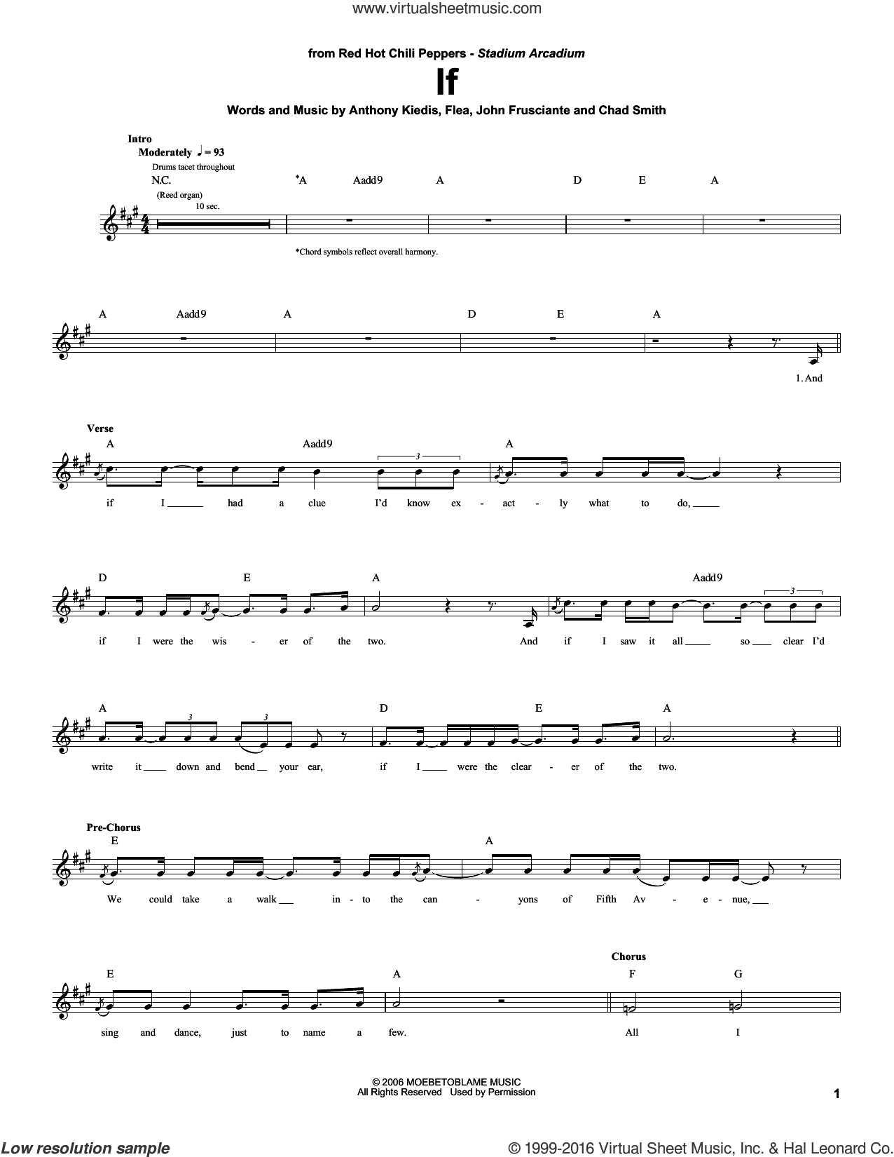 If sheet music for drums by Red Hot Chili Peppers. Score Image Preview.