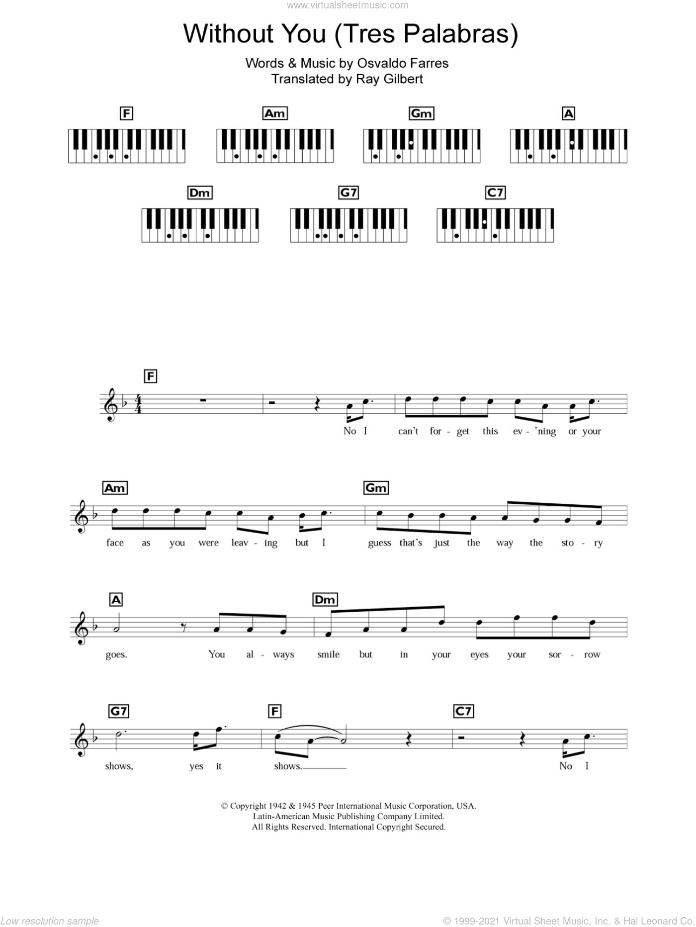 Mariah Carey All I Want For Christmas Is You Lyrics.Carey Without You Tres Palabras Sheet Music Intermediate For Piano Solo Chords Lyrics Melody