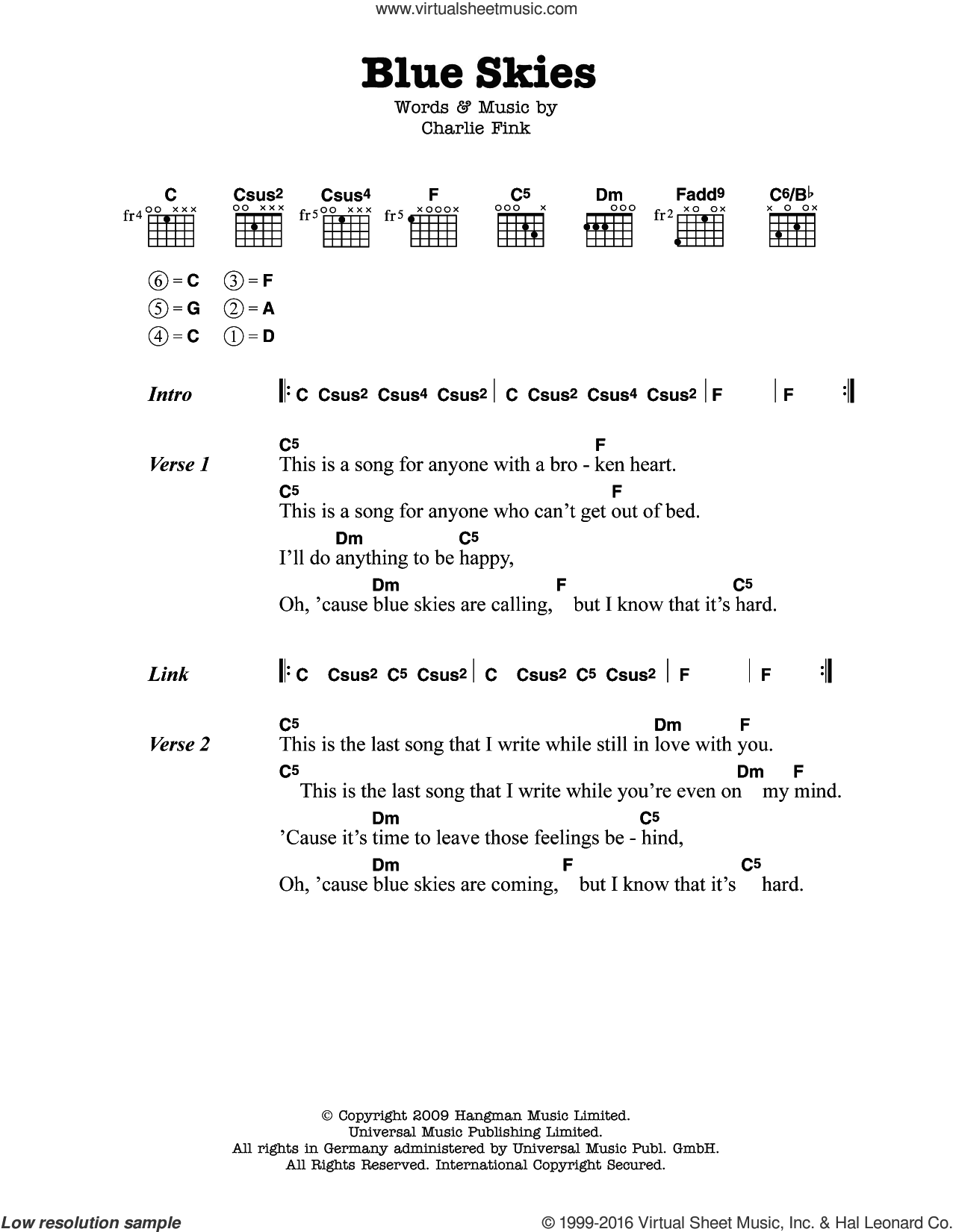 Heart of worship guitar chords images guitar chords examples csus2 guitar chord choice image guitar chords examples whale blue skies sheet music for guitar chords hexwebz Choice Image