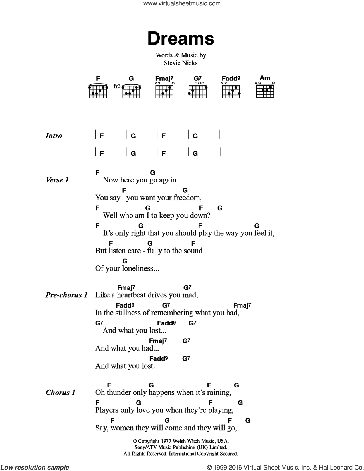 Mac Dreams Sheet Music For Guitar Chords Pdf