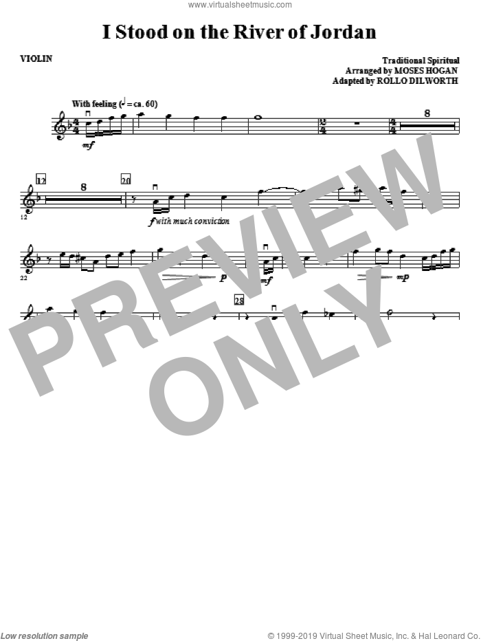 Ride On, King Jesus (complete set of parts) sheet music for orchestra/band (Strings) by Rollo Dilworth and Moses Hogan, intermediate skill level
